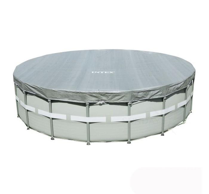 Летние товары , Бассейны Intex Тент для круглого бассейна 488 см арт: 295507 -  Бассейны