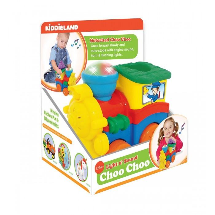 где купить Развивающие игрушки Kiddieland Паровозик со слоненком дешево