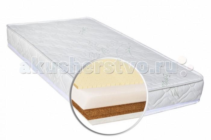 Матрас Глория детский Bamboo Tonus 120х60х12детский Bamboo Tonus 120х60х12Gloria Матрас детский Bamboo Tonus - это именно тот жизненно необходимый аксессуар, который гарантирует ребенку комфортный и полноценный сон. Идеально подойдет для детской кроватки. Чехол класса Премиум сделан из высококачественной ткани, второй слой сделан из нетканого материала Air-textile которые создают комфорт и уют в любое время года. Высокая воздухопроницаемость слоев и их способность отводить влагу гарантируют надежность данной модели. Матрас изготовлен из экологически чистых гипоаллергенных материалов которые обеспечивают хорошую циркуляцию воздуха и легкое просушивание.   Кокосовое полотно – натуральный наполнитель из прессованных волокон кокосового ореха, пропитанных специальным составом на основе натурального латекса, придает матрасам дополнительный комфорт. Кокосовое волокно почти не поддается гниению, разложению и деформированию, не вызывает аллергических реакций, обладает бактерицидными свойствами.  Нетканое текстильное полотно применяют исключительно как теплоизоляционный материал, способствующий сохранению необходимой температуры. Холкон - это полиэфирное, синтетическое волокно которое не мнется и не деформируется. Он экологически чист и не впитывает посторонние запахи, воздухопроницаемый, биологически устойчивый. Матрасы с таким наполнителем имеют ортопедические свойства, отлично держат форму и способны эксплуатироваться на протяжении длительного времени. Особенности:  Нетканый материал Air-textile  Латекс 1 см    Кокосовое полотно 1 см              Холкон 10 см                                Жесткость: средняя Максимальная нагрузка: 30 кг Высота матраса: 12 см<br>