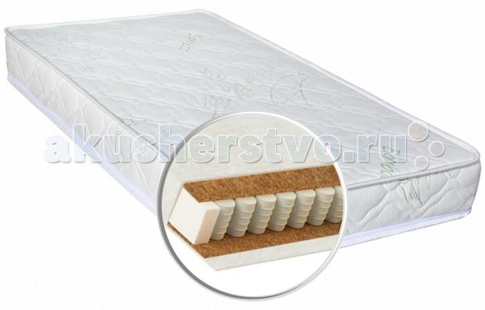 Матрас Глория детский Bamboo Lux 120х60х12детский Bamboo Lux 120х60х12Gloria Матрас детский Bamboo Lux - это именно тот жизненно необходимый аксессуар, который гарантирует ребенку комфортный и полноценный сон. Идеально подойдет для детской кроватки. Чехол класса Премиум сделан из высококачественной ткани, второй слой сделан из нетканого материала Air-textile которые создают комфорт и уют в любое время года. Высокая воздухопроницаемость слоев и их способность отводить влагу гарантируют надежность данной модели. Матрас изготовлен из экологически чистых гипоаллергенных материалов которые обеспечивают хорошую циркуляцию воздуха и легкое просушивание. Система усиления периметра пружинного блока матраса, представляющая собой прямоугольную рамку из упруго-деформируемого материала, состоящую из четырех вертикальных стенок, расположенных по периметру пружинного блока и скрепленных между собой по линиям стыковки стенок, причем высота стенок равна высоте пружинного блока.   Кокосовое полотно – натуральный наполнитель из прессованных волокон кокосового ореха, пропитанных специальным составом на основе натурального латекса, придает матрасам дополнительный комфорт. Кокосовое волокно почти не поддается гниению, разложению и деформированию, не вызывает аллергических реакций, обладает бактерицидными свойствами.  Нетканое текстильное полотно применяют исключительно как теплоизоляционный материал, способствующий сохранению необходимой температуры. Система усиления периметра матраса ППУ (пенополиуретан) - современный искусственный материал абсолютно безопасный и гипоаллергенный. Независимый пружинный блок – пружины в матрасе помещены в отдельные чехлы и работают автономно, обеспечивают точечную поддержку Особенности:  Независимый пружинный блок 10 см Нетканый материал Air-textile  Кокосовое полотно: верхний - 1 см, нижний - 1 см                                           Жесткость: средняя Максимальная нагрузка: 30 кг Высота матраса: 12 см<br>