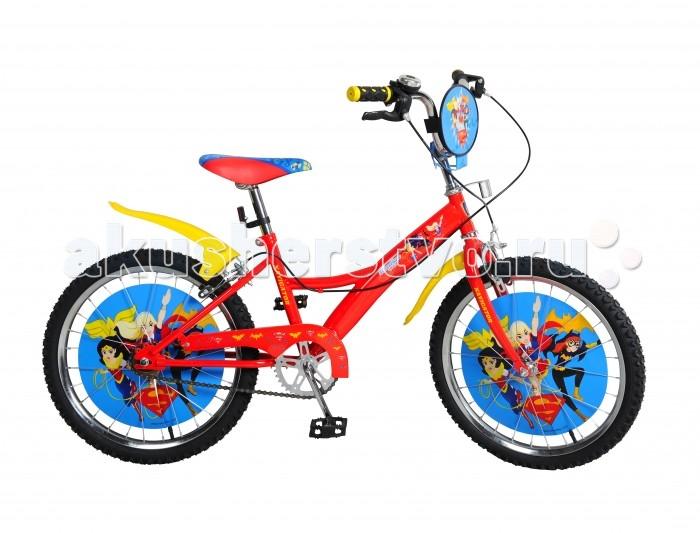 Двухколесные велосипеды Navigator Super Hero Girls Kite-типа 20 navigator велосипед super hero girls kite тип с 5 лет