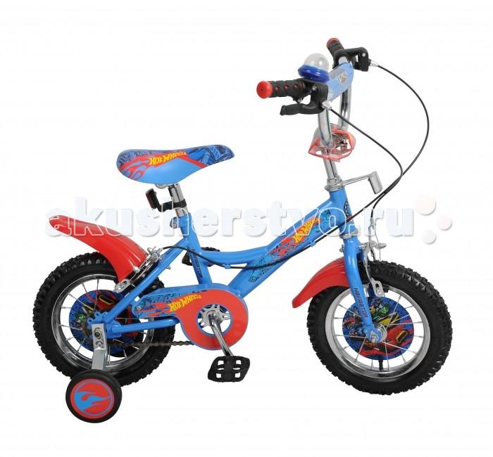 Велосипед двухколесный Navigator Hot Wheels Kite-тип 12Hot Wheels Kite-тип 12Двухколесный велосипед Navigator Hot Wheels Kite-тип 12 подарит радость вашему ребенку.   Особенности:  Широкие страховочные колёса, односоставной шатун, вставки в колесах, пластиковые крылья, звонок-пищалка, мягкая накладка на руле, передний и задний ручной тормоз.<br>
