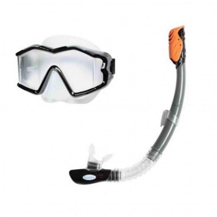 Летние товары , Очки, маски и трубки для плавания Intex Плавательный набор маска трубка исследователь арт: 296230 -  Очки, маски и трубки для плавания