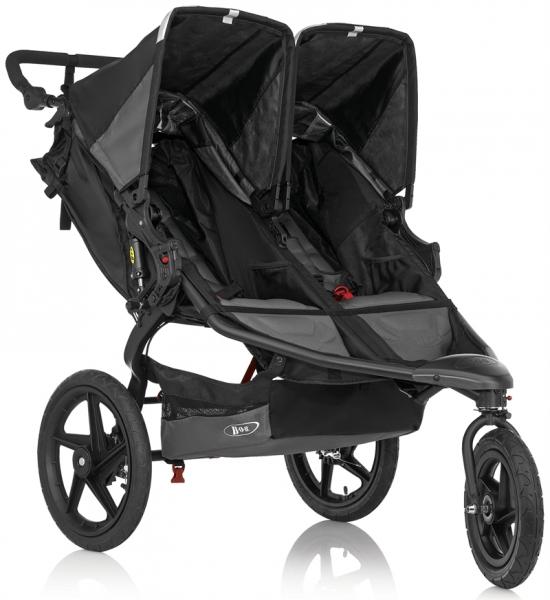 Детские коляски , Коляски для двойни и погодок BOB Коляска для двойни Revolution PRO Duallie арт: 29632 -  Коляски для двойни и погодок
