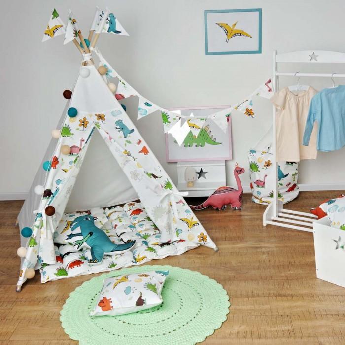 Палатки-домики VamVigvam Вигвам Dino vamvigvam детский ночник pineapple