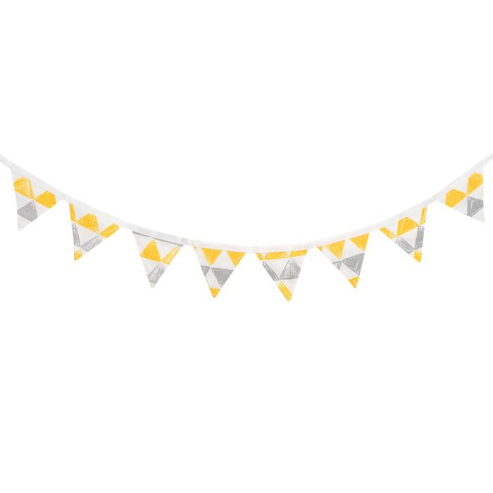 Товары для праздника VamVigvam Гирлянда из 8 флажков Triangles товары для дома
