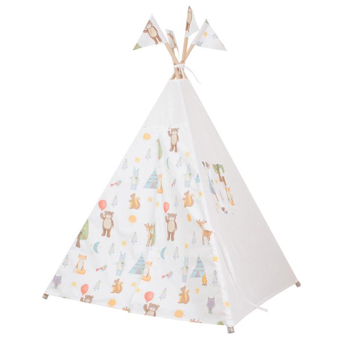 Палатки-домики VamVigvam Вигвам Forest Party с окном и карманом vamvigvam детский ночник pineapple
