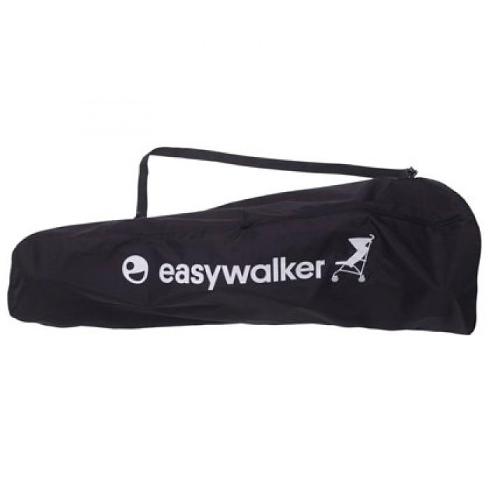 EasyWalker Сумка buggy Transport bagСумка buggy Transport bagEasyWalker Сумка buggy Transport bag EB10206 позволит легко брать прогулочную коляску EASYWALKER Buggy с собой в путешествия.  Особенности: Изготовлена из прочной плотной ткани Широко открывается с помощью застежки на молнии Компактна в сложенном виде Удобная ручка для переноски коляски на плече<br>