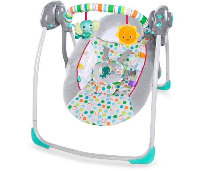 Детская мебель , Электронные качели Bright Starts Солнечные джунгли арт: 296821 -  Электронные качели