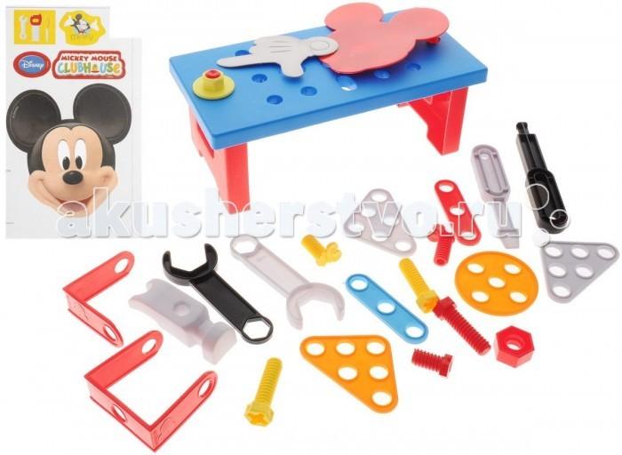Ролевые игры Bildo Игровой набор инструментов с тележкой Микки Маус игрушка для животных каскад удочка с микки маусом 47 см
