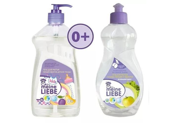 Детские моющие средства Meine Liebe Промонабор Посуда 1 детские моющие средства meine liebe промонабор для стирки детский 2