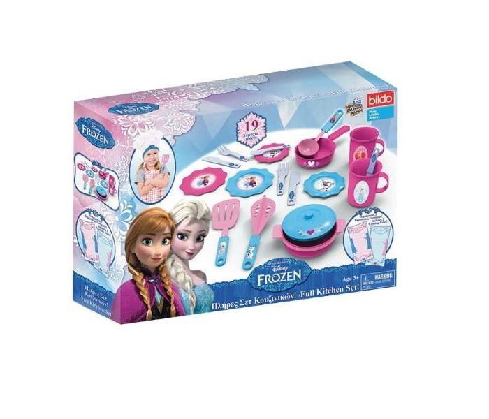 Ролевые игры Bildo Игровой кухонный набор Холодное сердце ролевые игры playgo игровой набор для приготовления хот догов делюкс