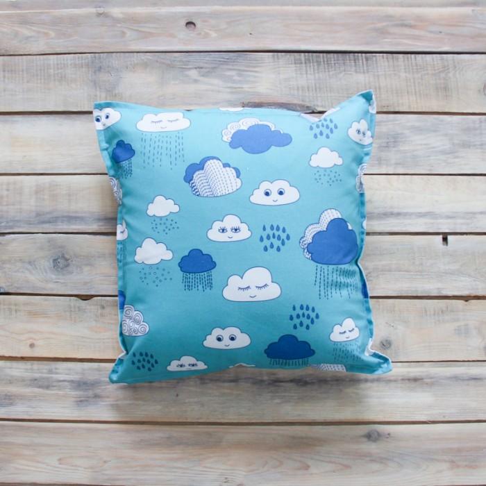 Постельные принадлежности , Подушки для малыша VamVigvam Подушка Clouds 40х40 арт: 297001 -  Подушки для малыша
