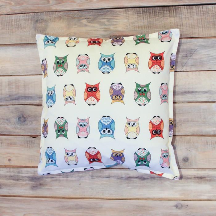 Постельные принадлежности , Подушки для малыша VamVigvam Подушка Funky Owl 40х40 арт: 297025 -  Подушки для малыша