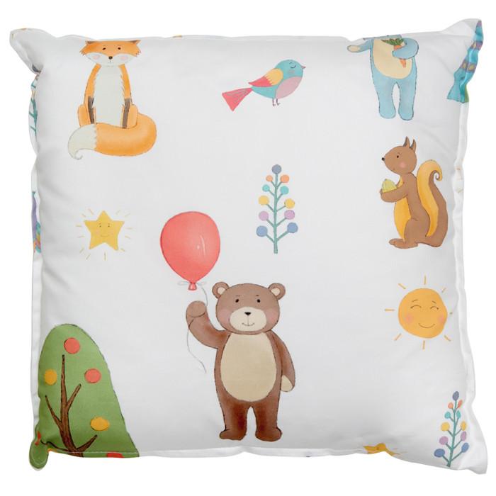 Подушки для малыша VamVigvam Подушка Forest Party 40х40 vamvigvam детский ночник pineapple