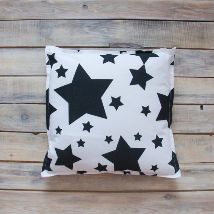 Постельные принадлежности , Подушки для малыша VamVigvam Подушка Black Stars 40х40 арт: 297034 -  Подушки для малыша