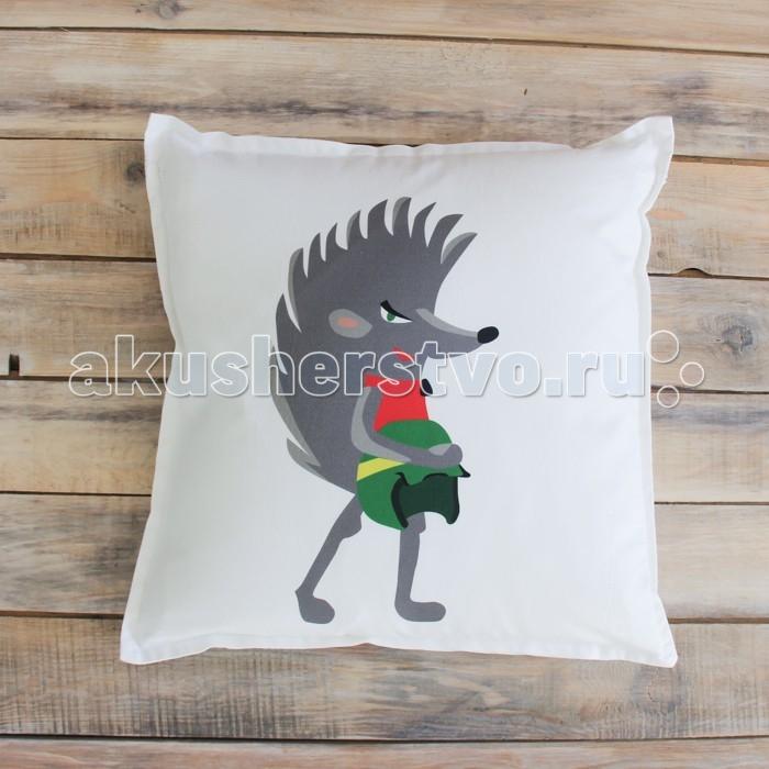 Постельные принадлежности , Подушки для малыша VamVigvam Подушка Faster the Hedgehog 40х40 арт: 297070 -  Подушки для малыша