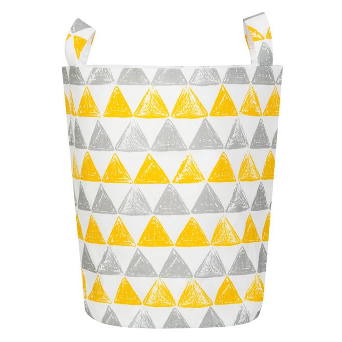 Ящики для игрушек VamVigvam Тканевая корзина Triangles vamvigvam детский ночник pineapple