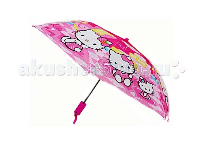Детские зонтики Disney Зонт-трость Hello Kitty disney детский зонт трость disney холодное сердце viola