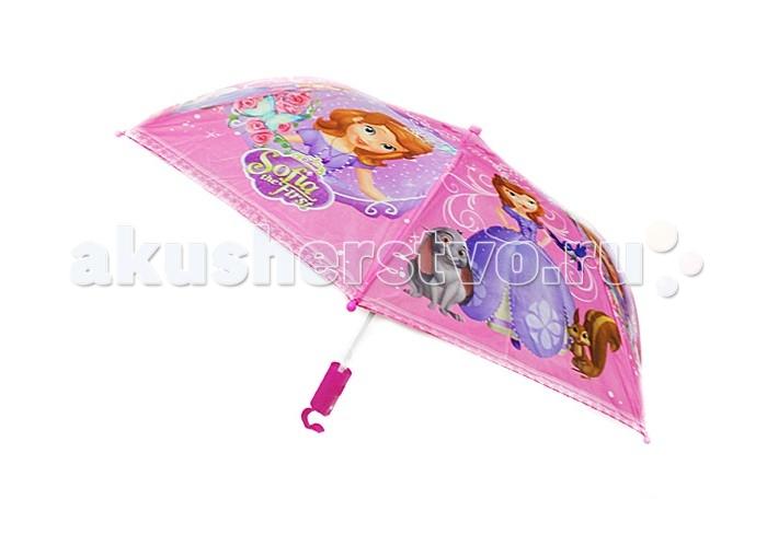Детские зонтики Disney Зонт-трость Принцесса София зонт детский disney принцесса белль ариэль и аврора прозрачный 50 см