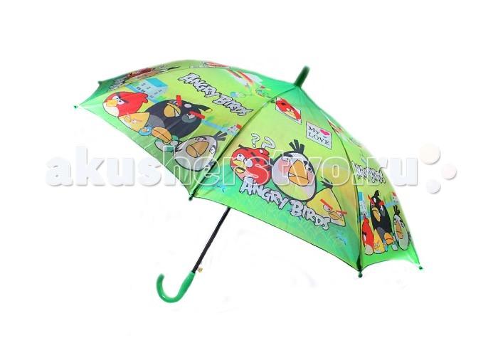 Детские зонтики Angry Birds Зонт-трость Энгри Бердз