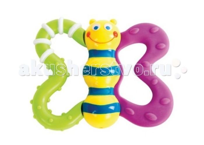 Прорезыватели Жирафики Игрушка Бабочка жирафики развивающая игрушка подвеска бабочка муз