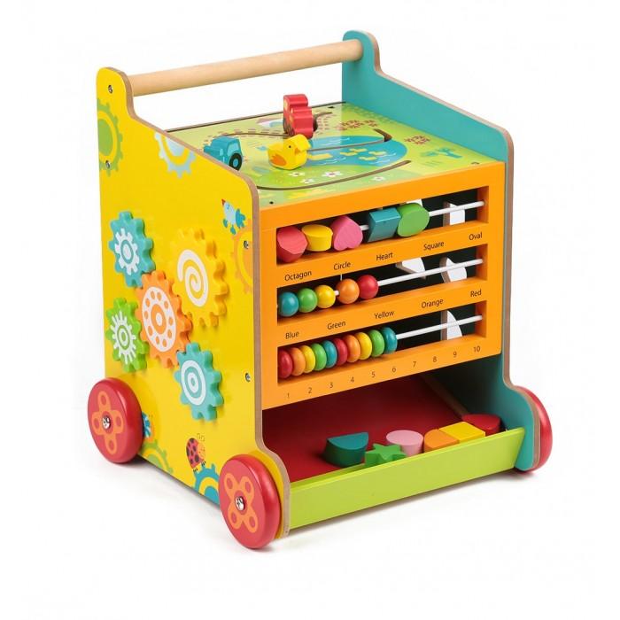 Деревянная игрушка Edufun Развивающий центрРазвивающий центрEdufun Развивающий деревянный центр для детей от 1.5 лет  С помощью игрушки малыши научатся различать цвета, считать от одного до десяти, узнают новые формы.  Все детали игрушки в безопасном исполнении, дерево тщательно обработано. Игрушка развивает мелкую моторику рук, воображение и фантазию малыша.<br>