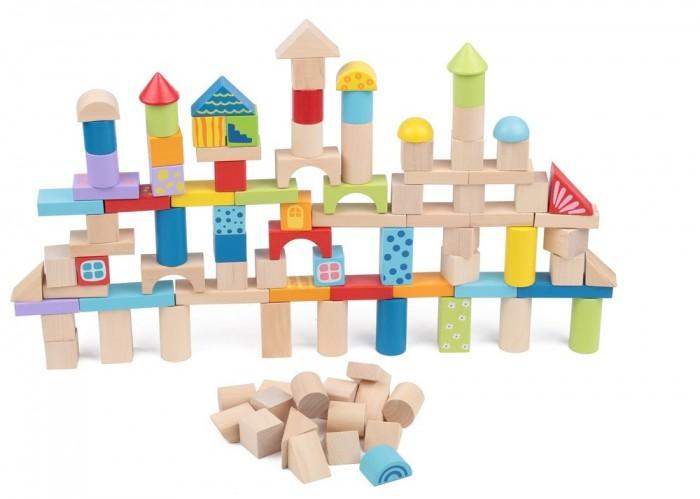 Деревянная игрушка Edufun Деревянный 100 элементов