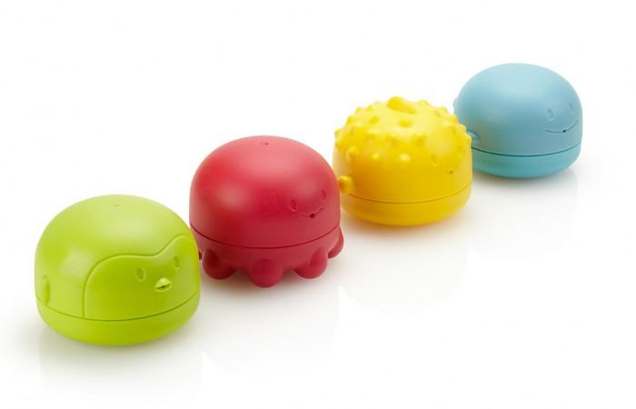 Купание малыша , Игрушки для ванны Ubbi Игрушки для ванной: пингвин, рыбка, кит, осьминог арт: 298132 -  Игрушки для ванны