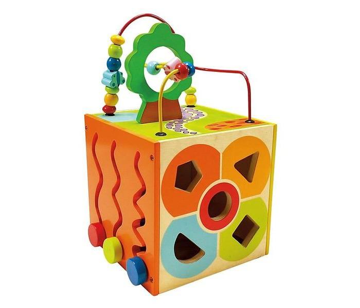 Деревянная игрушка Bino многофункциональный куб 84189многофункциональный куб 84189Bino Развивающий многофункциональный куб непременно понравится Вашему малышу: он очень яркий и каждая его грань — это новая игра. Этот набор развивает координацию движения, мелкую моторику, память, логическое мышление, сенсорное запоминание, учит различать фигуры.  Очень яркий и каждая его грань — это новая игра. Этот набор развивает координацию движения, мелкую моторику, память, логическое мышление, сенсорное запоминание, учит различать фигуры.<br>