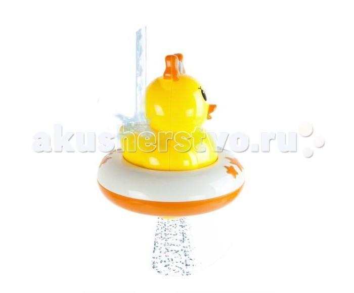 Игрушки для ванны Жирафики Игрушка-погремушка для ванны Ути Утя. Водное решето игрушки для ванны игруша набор для ванны уточки