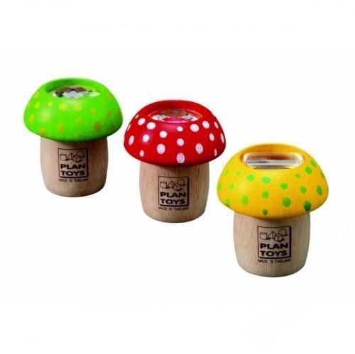 Деревянные игрушки Plan Toys Калейдоскоп Грибок