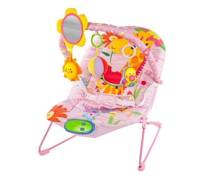 Детская мебель , Кресла-качалки, шезлонги Жирафики Кресло-качалка Милашка с зеркальцем вибрацией и музыкой арт: 298309 -  Кресла-качалки, шезлонги