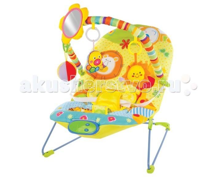 Детская мебель , Кресла-качалки, шезлонги Жирафики Кресло-качалка Сафари с зеркальцем вибрацией и музыкой арт: 298312 -  Кресла-качалки, шезлонги