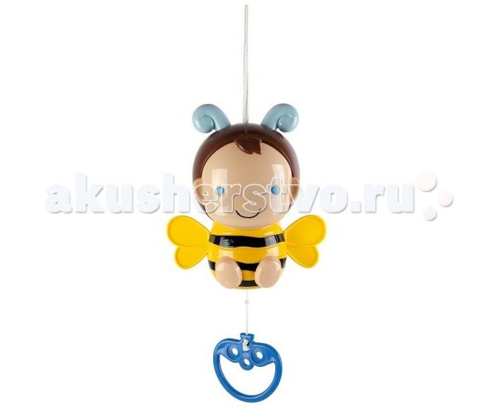 Подвесные игрушки Жирафики Музыкальная Пчёлка Софи жирафики музыкальная игрушка подвеска грузовик