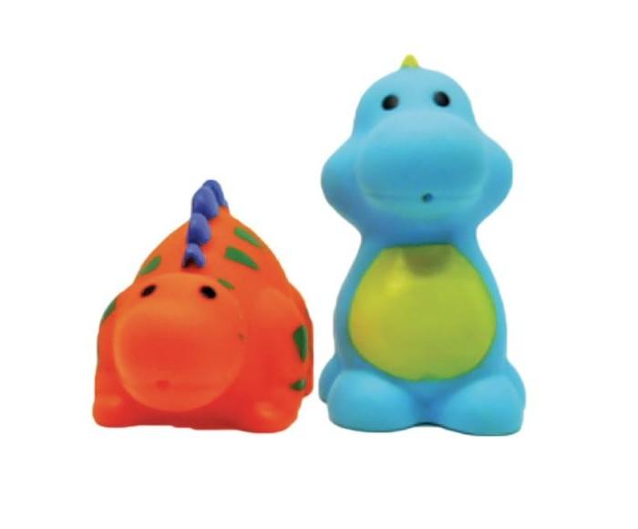 Игрушки для ванны Жирафики Набор для купания Динозаврики игрушки для ванны tolo toys набор ведерок квадратные