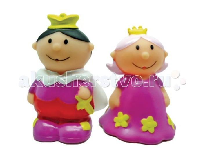 Игрушки для ванны Жирафики Набор для купания Король и королева игрушки для ванны tolo toys набор ведерок квадратные