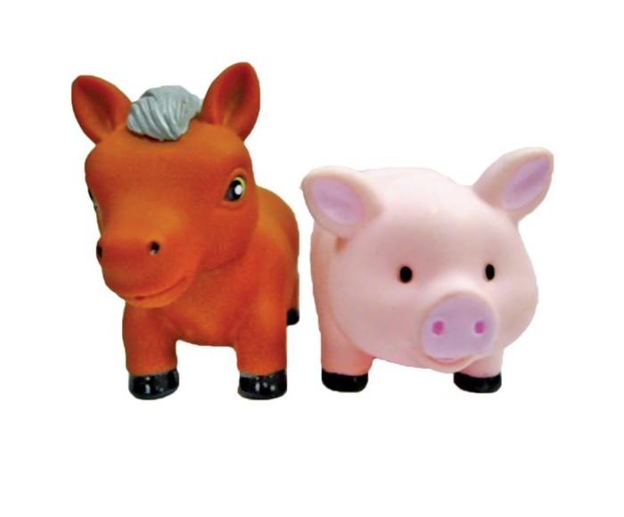 Игрушки для ванны Жирафики Набор для купания Лошадка и свинка игрушки для ванны tolo toys набор ведерок квадратные