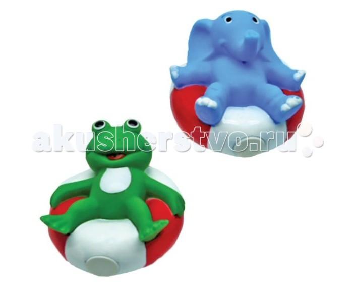 Игрушки для ванны Жирафики Набор для купания Лягушонок и слоник игрушки для ванны tolo toys набор ведерок квадратные