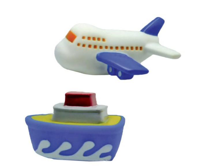 Игрушки для ванны Жирафики Набор для купания Самолёт и пароход игрушки для ванны tolo toys набор ведерок квадратные