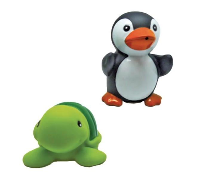 Игрушки для ванны Жирафики Набор для купания Черепашка и пингвин игрушки для ванны tolo toys набор ведерок квадратные