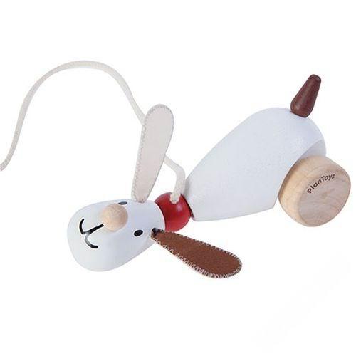 каталки игрушки plan toys каталка танцующий крокодил Каталки-игрушки Plan Toys каталка Собачка