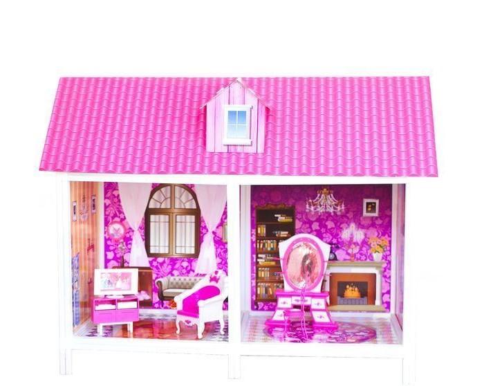 Paremo Кукольный домик 1-этажный 2 комнатыКукольный домик 1-этажный 2 комнатыParemo Кукольный домик 1-этажный 2 комнаты с мебелью и куклой в комплекте.  Одноэтажный дом для кукол формата 25-30 см В доме 2 комнаты Материалы: Пластик (каркасы дома, мебель и аксессуары, куклы) + картон (перекрытия, стены, крыша) В комплекте: Домик, 1 кукла, мебель, предметы интерьера Игрушка поставляется в разобранном виде, сборка по принципу конструктора ВНИМАНИЕ! Для устойчивой фиксации картонные вставки требуют проклейки с каркасами домика.  Вес: 7 кг Материалы: Пластмасса, картон Размеры (габариты): 82 х 42 х 64 см Размеры упаковки: 86 х 7 х 36 см<br>