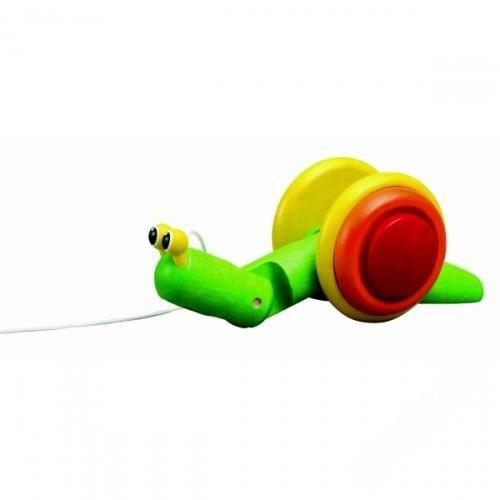 каталки игрушки plan toys каталка танцующий крокодил Каталки-игрушки Plan Toys Каталка Улитка