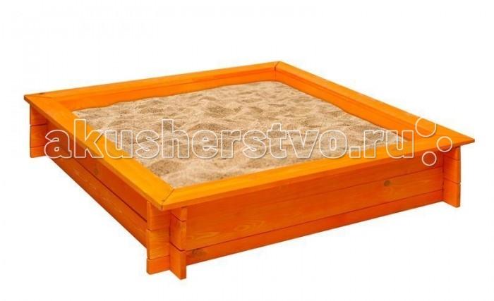 Paremo Песочница деревянная АфинаПесочница деревянная АфинаParemo Песочница деревянная Афина для веселых игр на свежем воздухе.  Классическая квадратная песочница Афина  Материал: дерево (сосна) По периметру песочницы 4 лавки для удобства игры Рекомендованный возраст: 3+ Габариты песочницы: 110 x 110 x 25 см. Вес: 12 кг В комплекте: каркас песочницы, фурнитура, подложка. ВНИМАНИЕ! Внешний защитный чехол в базовую комплектацию не входит. Приобретается отдельно. Древесина защищена от коррозии специальной пропиткой Упаковка: транспортная картонная коробка Особенность: песочница классической формы с 4-мя лавками и двойной защитой: безопасная пропитка защитит древесину от коррозии, а тканевая подложка защитит песок от прорастания травой.<br>