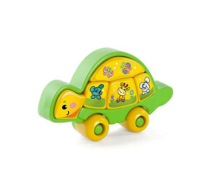 Развивающие игрушки Жирафики Пазл Мудрая черепашка 5 деталей жирафики жирафики развивающая игрушка мультикуб 7 игр на каждой стороне