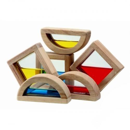 Деревянная игрушка Plan Toys Водяные блоки