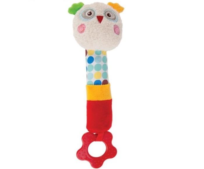 Прорезыватели Жирафики Пищалка Совёнок Бонни жирафики развивающая игрушка пищалка динозаврик 93920