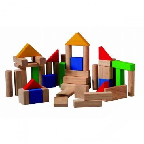 Деревянные игрушки Plan Toys Блоки игрушки для ванны tolo toys набор ведерок квадратные