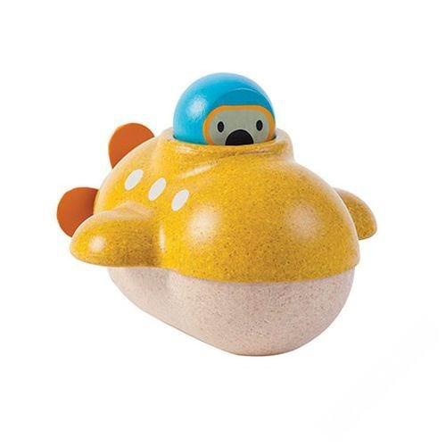 Деревянные игрушки Plan Toys Подводная лодка игрушки для ванной plan toys подводная лодка